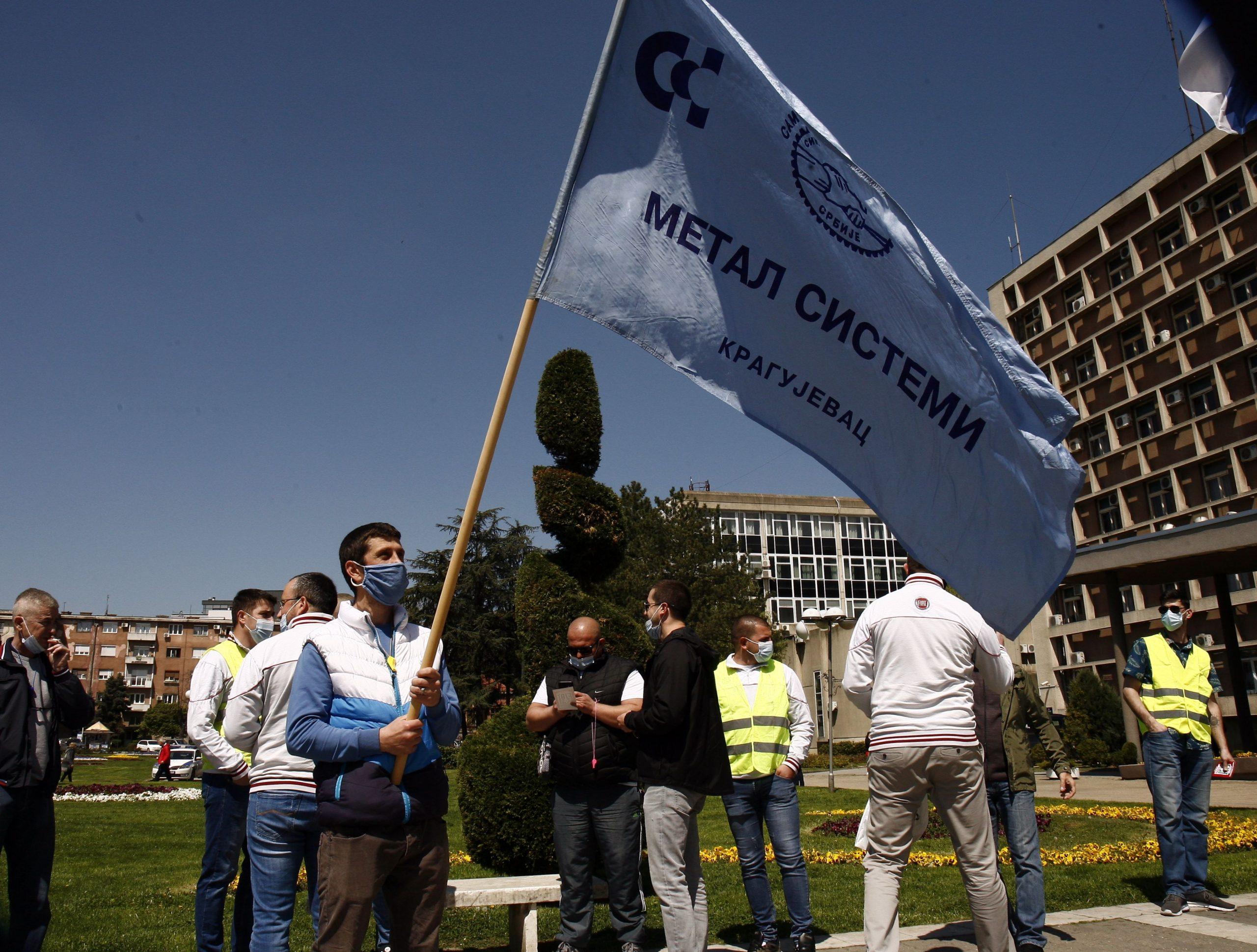 Štrajk Fijat Plastika, Kragujevac
