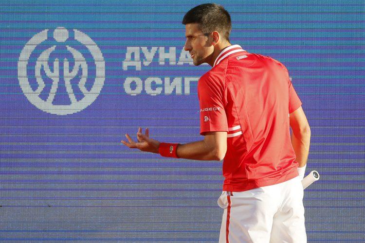 Novak Đoković ljut i nervozan