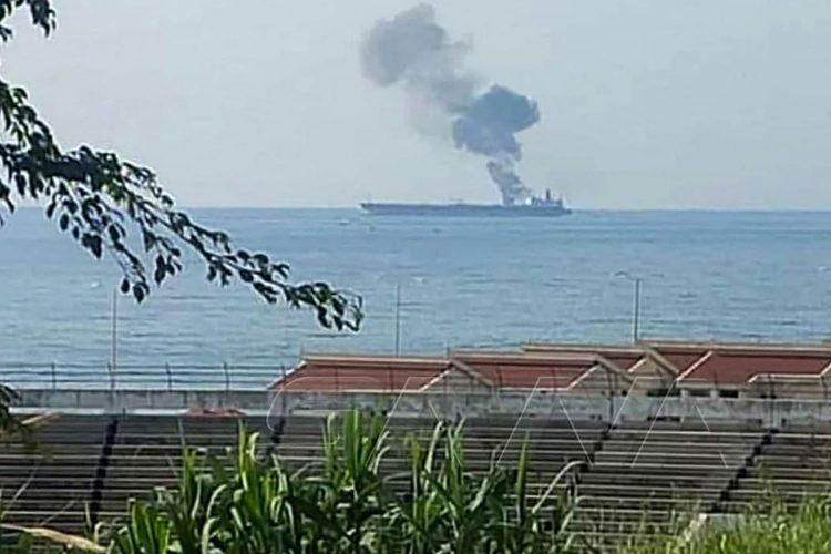 Iran tanker napad