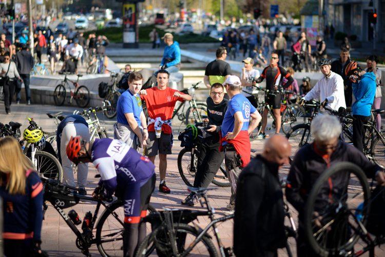 Kriticna masa biciklisti