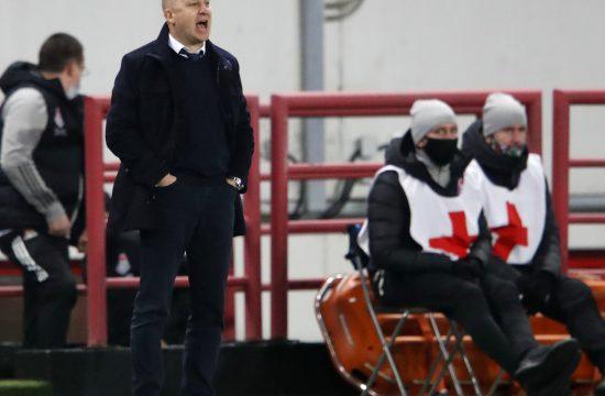 Nikolić na klupi Lokomotive u utakmici Lige šampiona