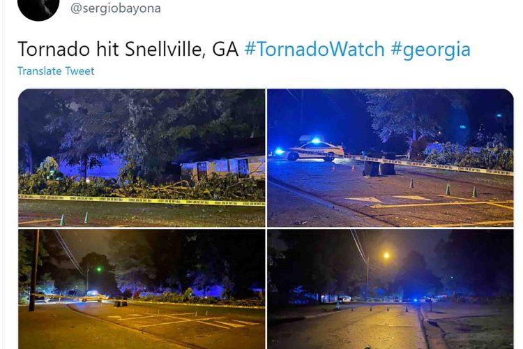 Tornado Džordžija