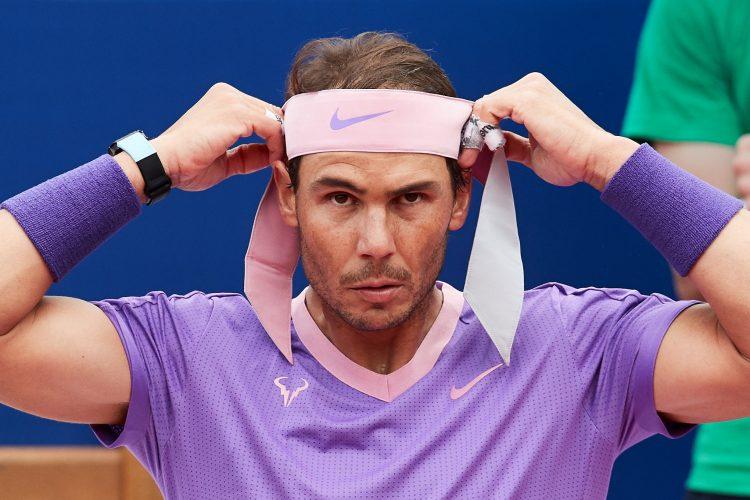 Rafael Nadal greške Barselona smeč servis