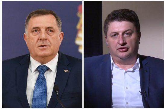 Milan Radović (SDS) i Dodik kombo