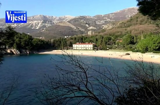 gradnja milocerski park milocer crna gora