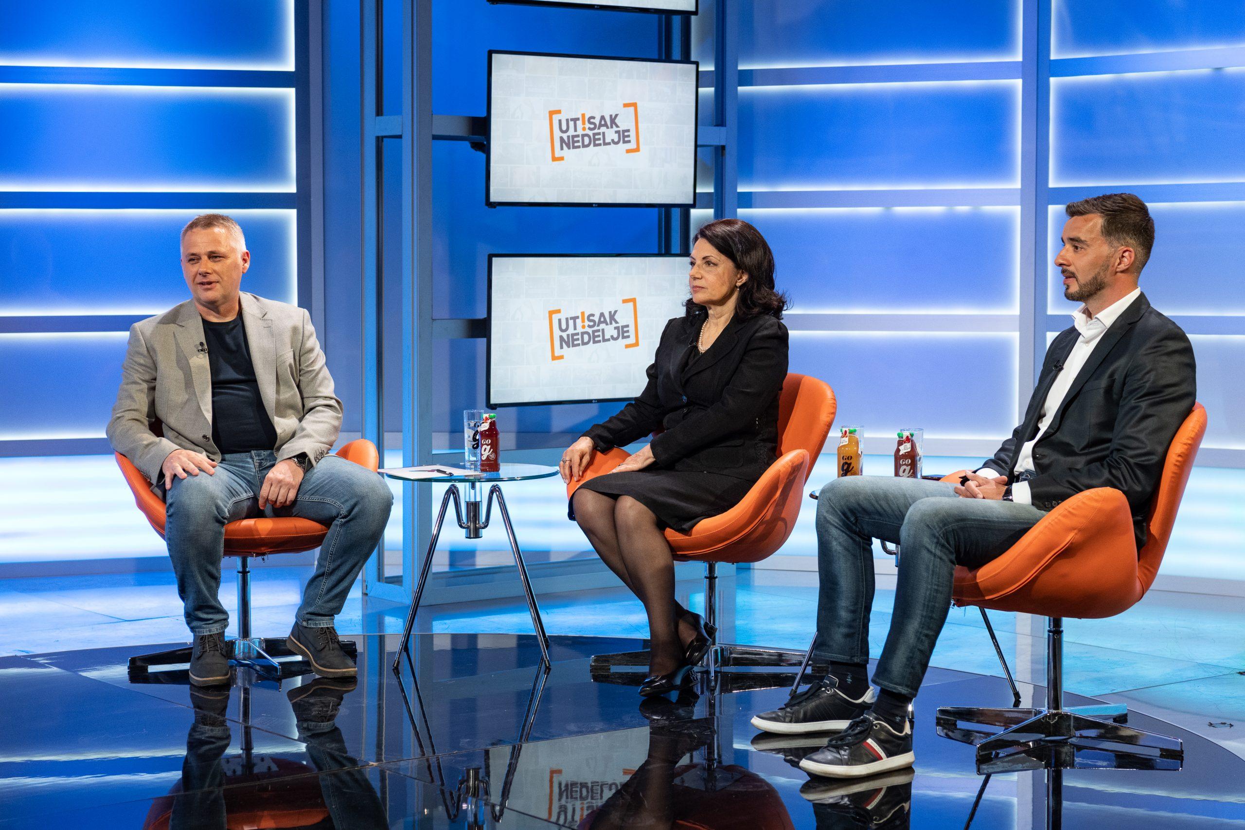 Igor Juric, Sanda Raskovic Ivic, Savo Manojlovic Utisak Nedelje