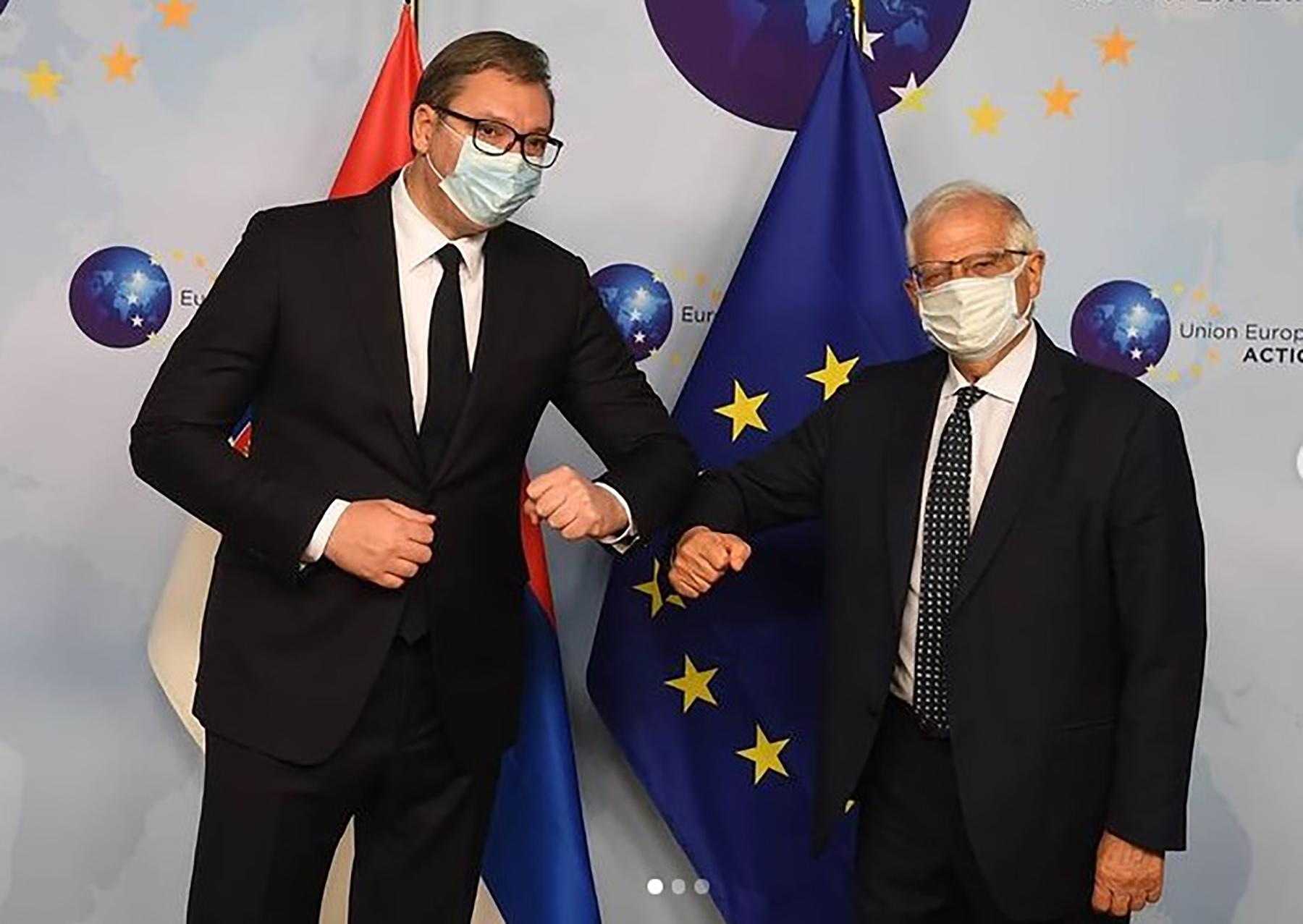 Aleksandar Vučić, Žozep Borel