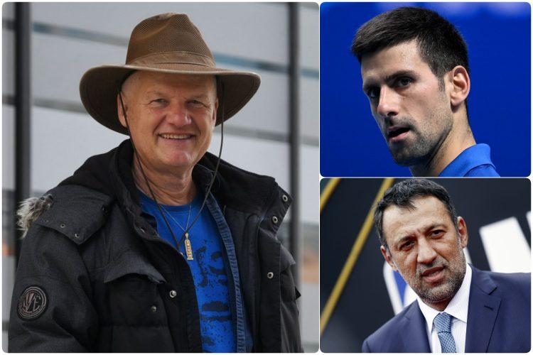 Semir Osmanagic, Novak Djokovic i Vlade Divac