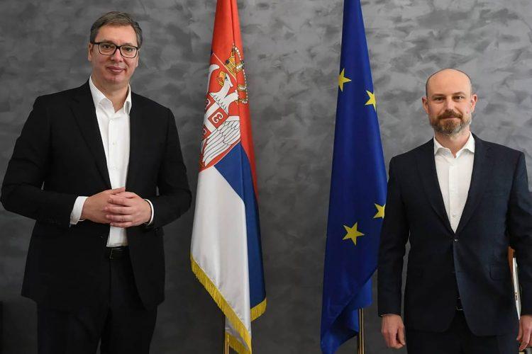 Aleksandar Vucic i Vladimir Bilcik