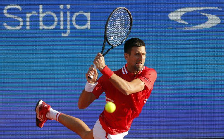 Novak Đoković Serbia Open Aslan Karacev