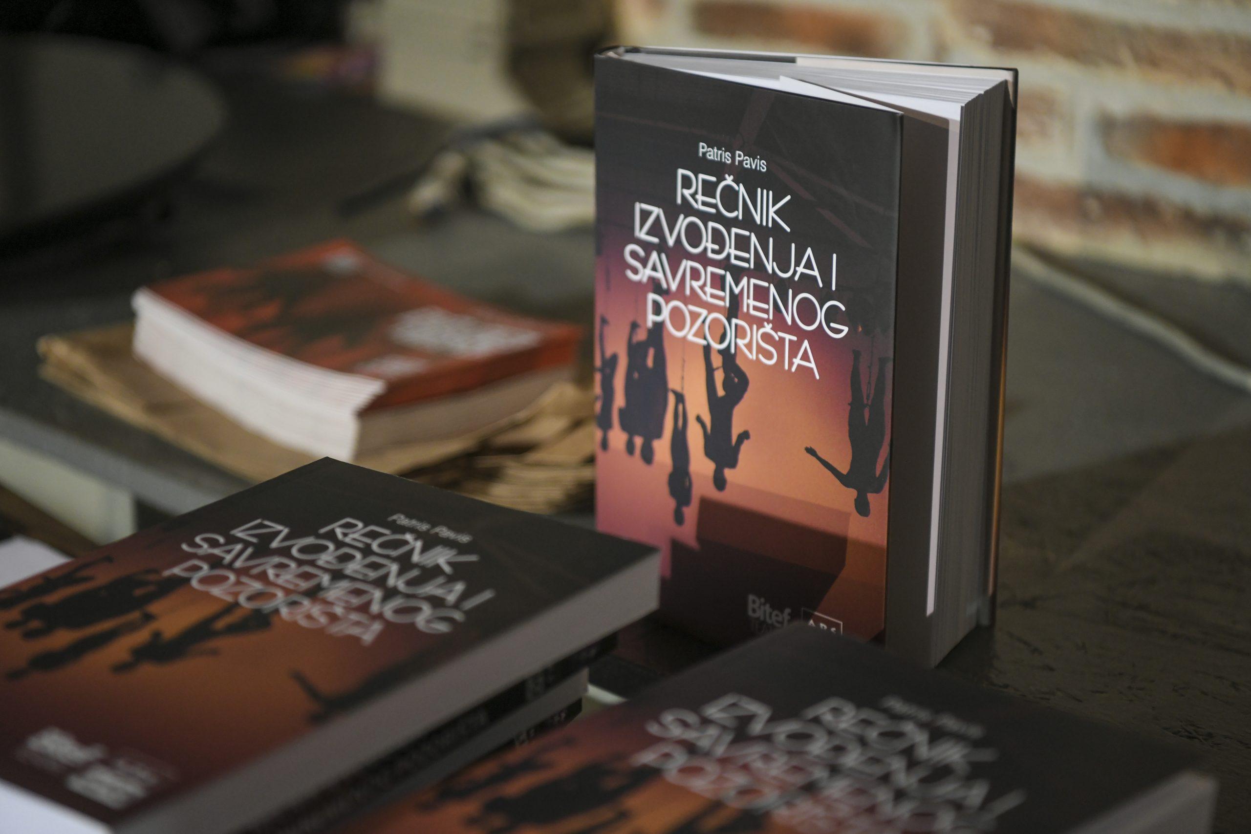 Knjiga Recnik izvodjenja i savremenog pozorista
