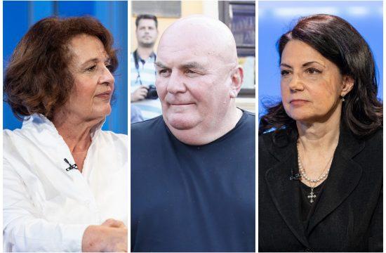 Vesna Rakić Vodinelić, Dragan Marković Palma, Sanda Rašković Ivić
