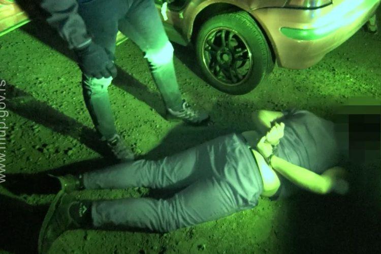 Hapšenje dilera