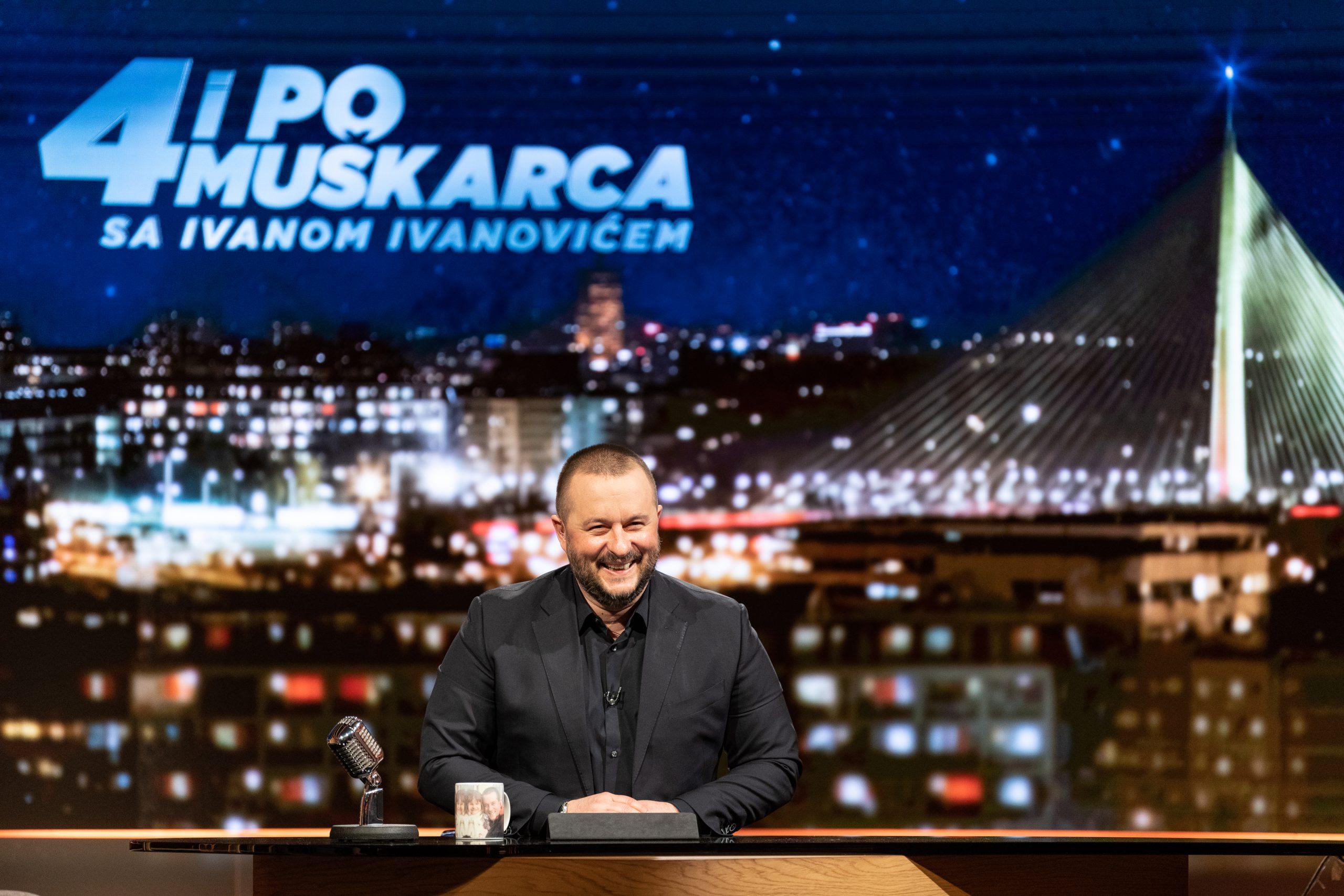 Ivan Ivanović, emisija 4 i po muškarca