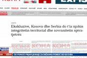 Kosovo i Srbija, prilog, emisija Pregled dana