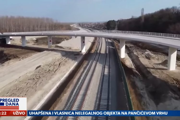 Brza pruga, Železnice Srbije, prilog, emisija Pregled dana