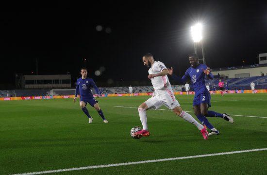 FK Real Madrid, FK Čelsi Karim Benzema