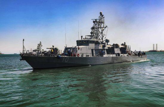 Americki ratni brod USS Fajerbolt Firebolt