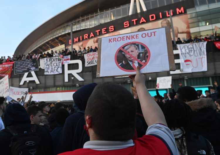 FK Arsenal stadion Sten Kronke