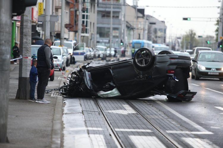 Zagreb saobracajna nesreca Dubrava