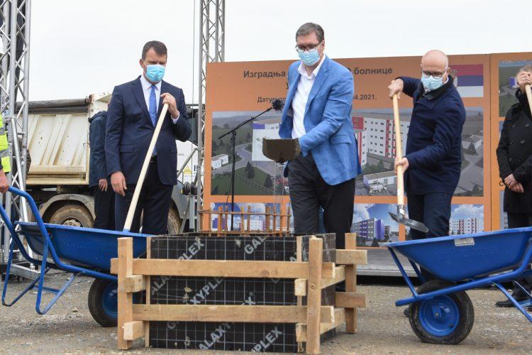 Igor Mirovic, Aleksandar Vucic i Milos Vucevic
