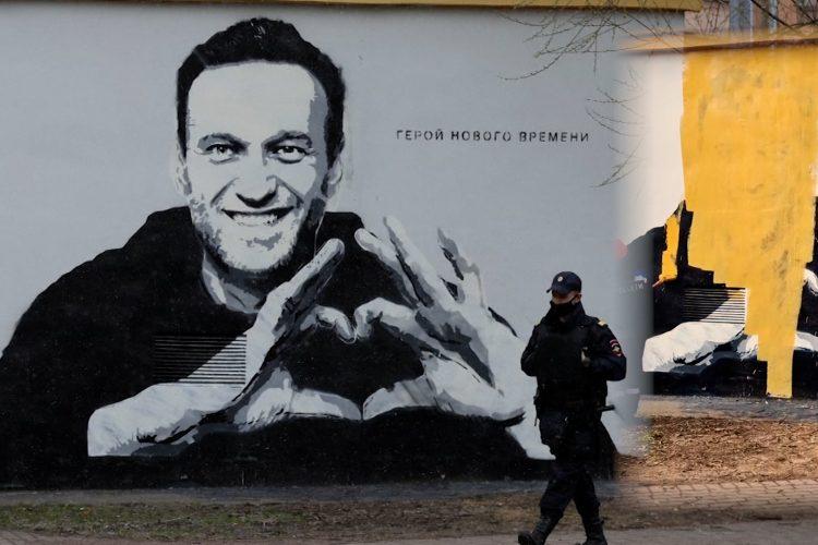 Mural Alekseja Navaljnog