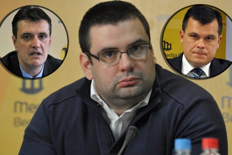 Dragoslav Ljubicanovic, Vladimir Cvijan i Jugoslav Tintor