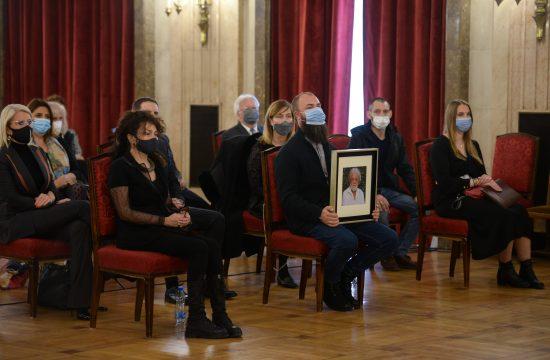Komemoracija Milošu Šobajiću, članovi porodice