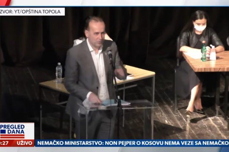 Dragan Jovanović, Topola, Pregled dana