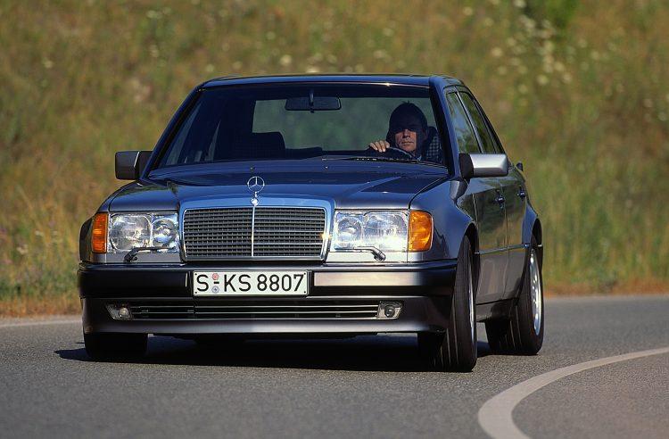 w124, 500 E, limuzina, mercedes