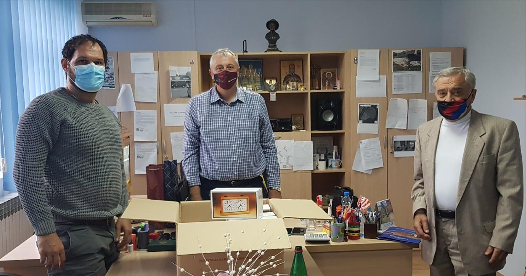 Aleksandar Sreckovic Kubura donacija Padinska skela