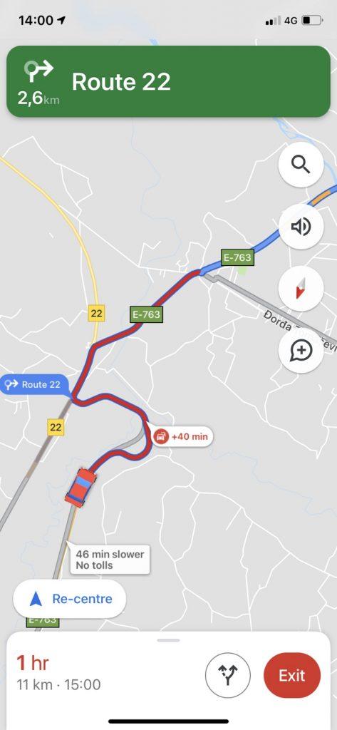 Guzva autoput