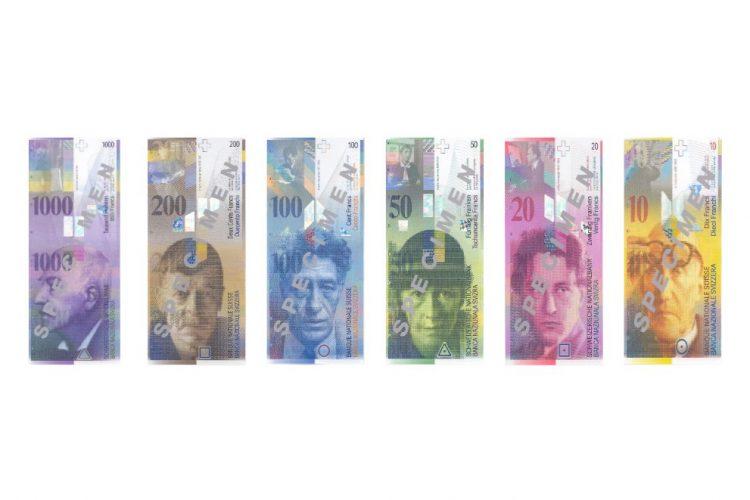 Švajcarski franci, moneta, pare, zamena franaka