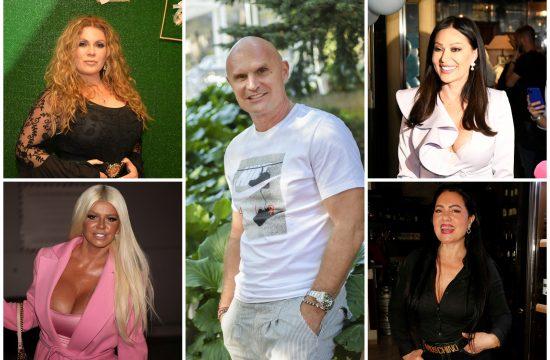 Indira Radić, Dara Bubamara, Mili, Miligram Ceca Ražnatović, Zlata Petrović