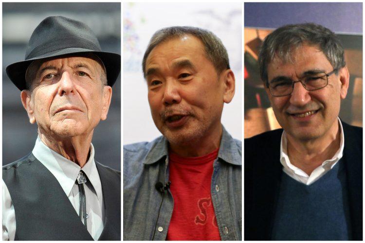 Leonard Koen, Haruki Murakami, Orhan Pamuk