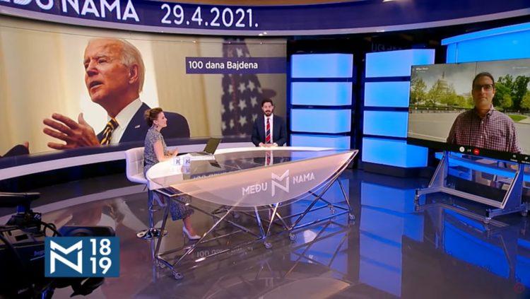 Dimitrije Milić, Milan Nešić, emisija Među nama, Medju nama