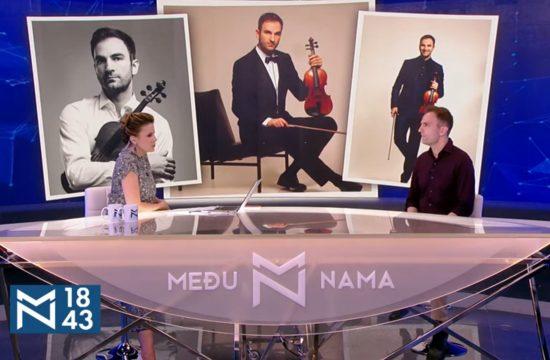 Stefan Milenković, emisija Među nama, Medju nama