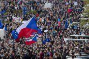 Češka, Prag, protest
