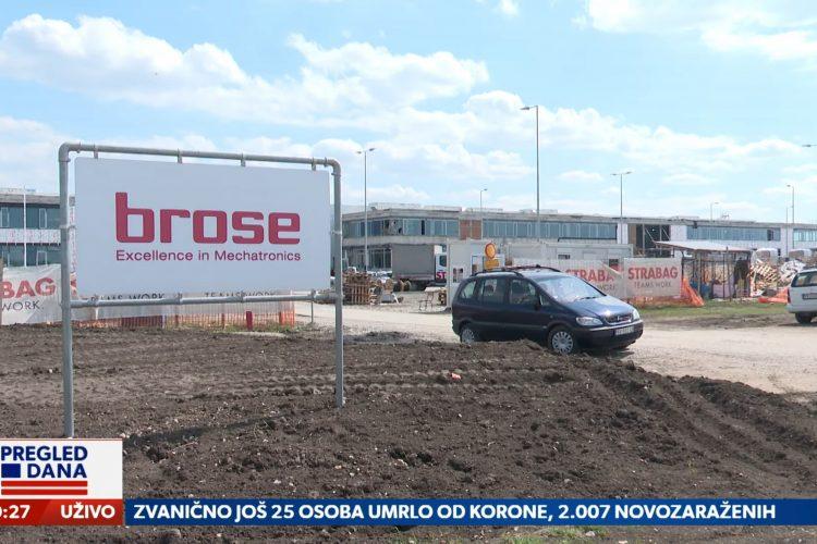Pančevo, fabrika Brose, emisija Pregled dana