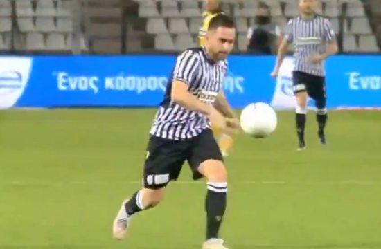 Gol lob Andrije Živkovića PAOK - AEK Kup Grčke
