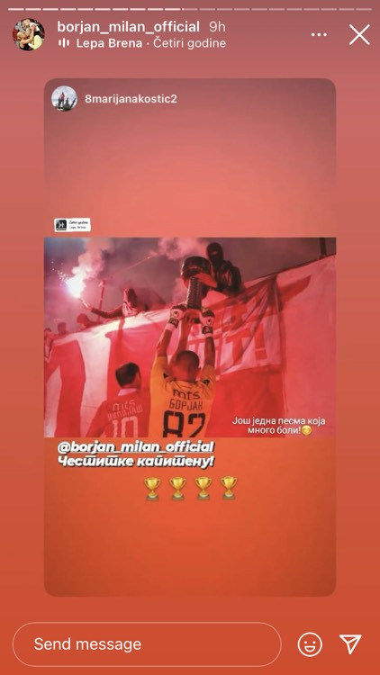 Instagram Milan Borjan