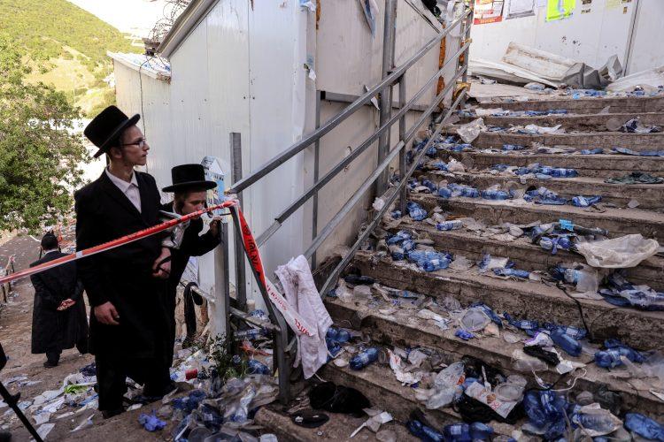 Izrael stampedo nesreća