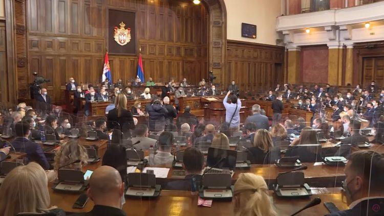 Skupština srbije, kodeks Skupštine, Među nama, Medju nama