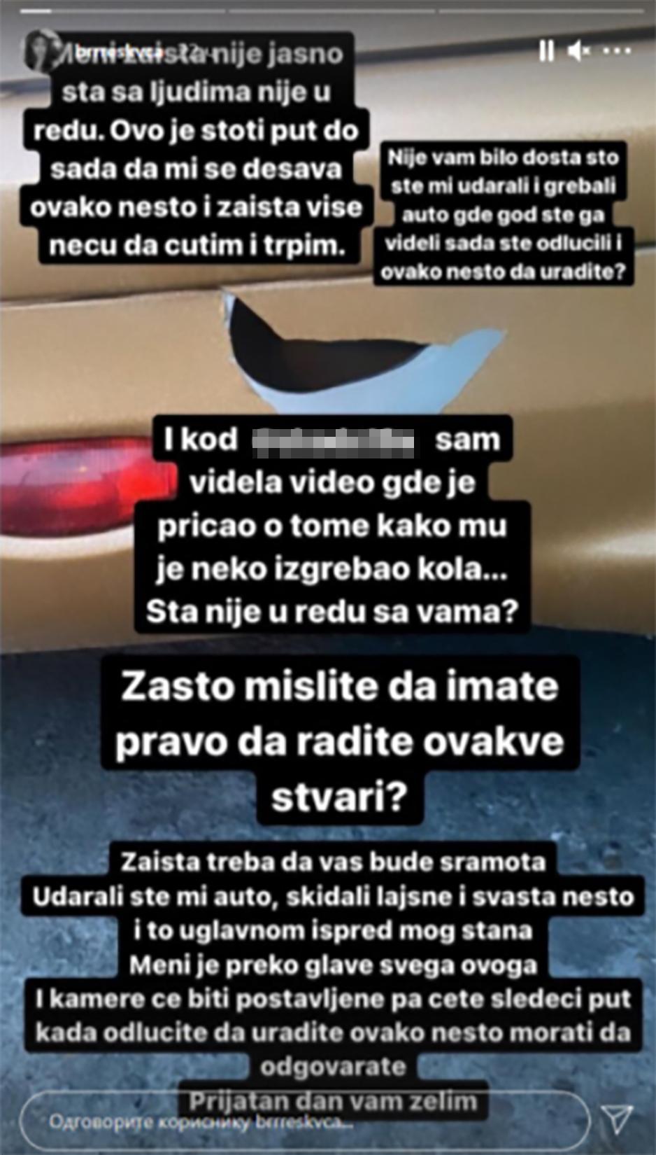 Breskvica, instagram, post, stori, story