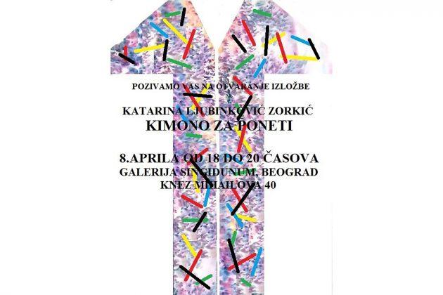 Kimono za poneti, Katarina Ljubinković Zorkić
