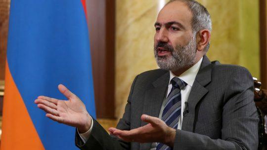 Nikol Pašinijan, Nikol Pashinyan