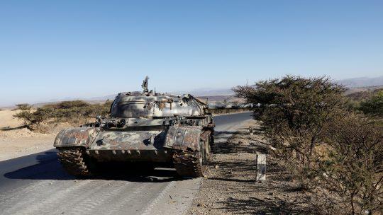 Eritreja Etiopija rat