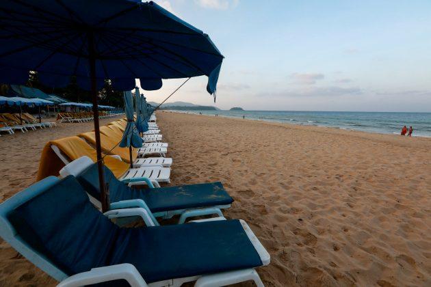 Puket, Tajland, Phuket, Thailand, prazna plaža