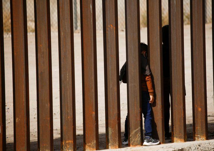 Migranti, nedovršen zid, Trampov zid, Meksiko