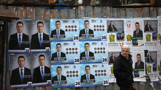 Izbor Bugarska